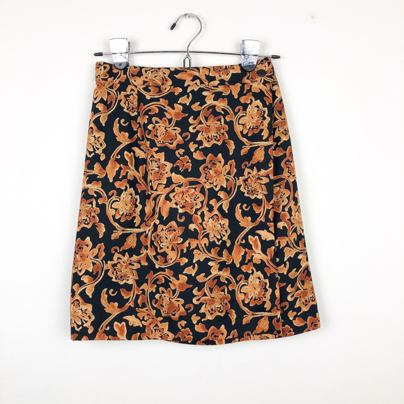 Coldwater Creek Dresses & Skirts - Coldwater Creek Floral Print Wrap Skirt